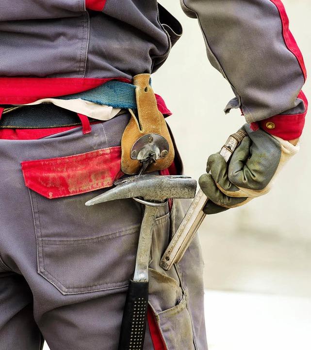 Die Handwerkskammer Konstanz vertritt ...0 Beschäftigten  in fünf Landkreisen.   | Foto: Fotolia.com/Gina Sanders