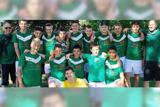 Freude beim FC Hausen