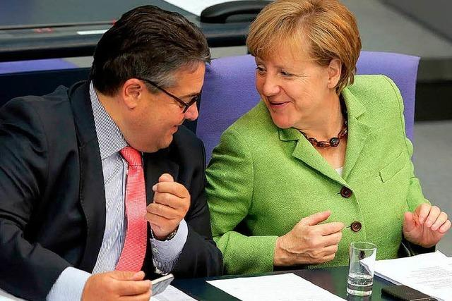 SPD-Chef Gabriel lotet Machtoptionen aus