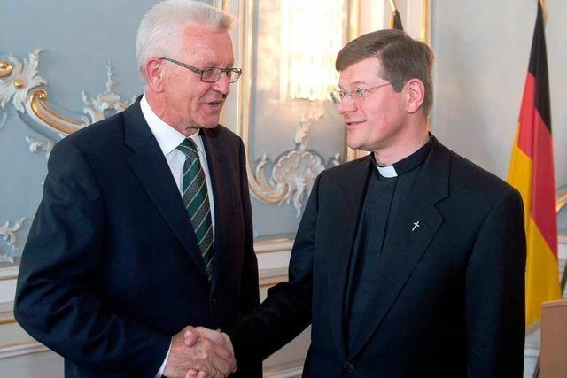 Angestaubt? Freiburger Erzbischof schwört Treueeid