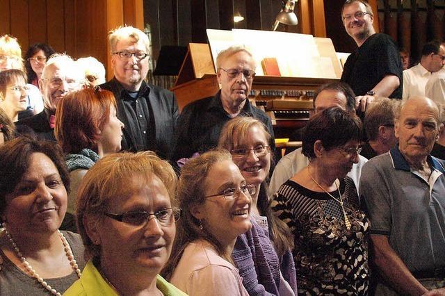 Musikalische Wucht im Kirchenschiff