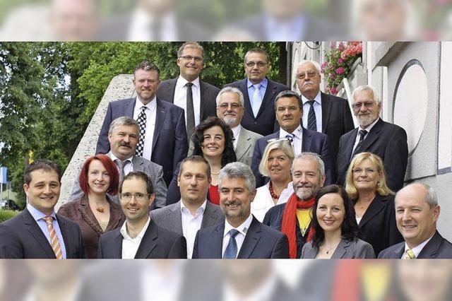 Neuer Gemeinderat ist im Amt