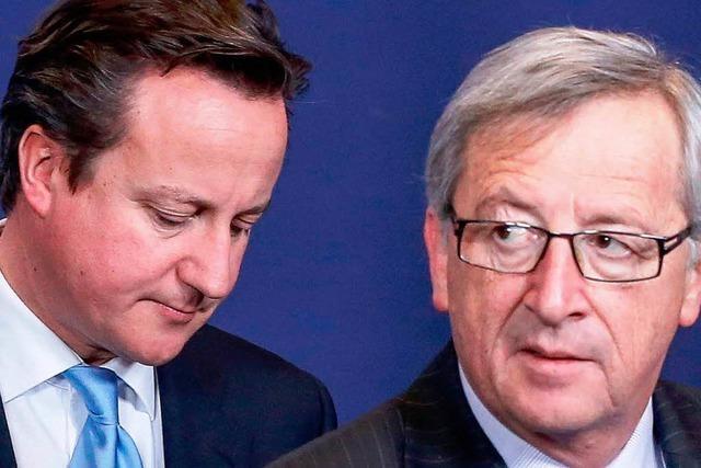 Cameron im Streit um Juncker zunehmend isoliert