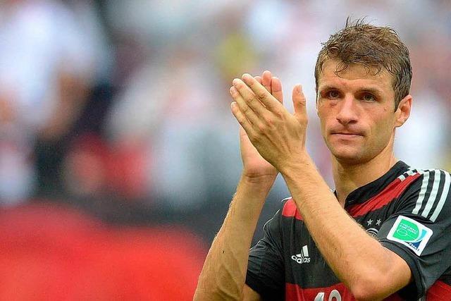 Es müllert weiter: Neuntes Müller-Tor im neunten WM-Spiel