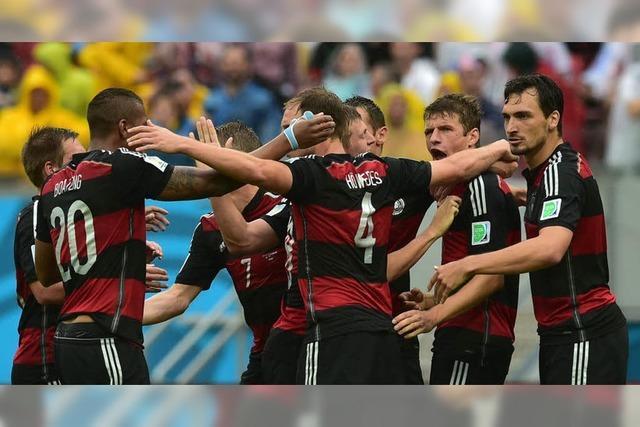 Deutschland besiegt die USA mit bayrischem Ballbesitzfußball
