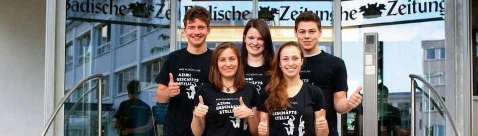 Azubi-Geschäftsstelle der Badischen Zeitung in Lahr