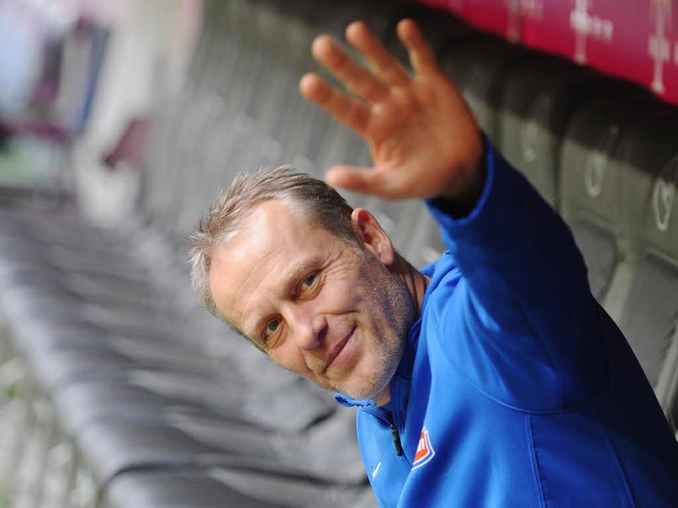 Der Trainer des SC Freiburg Christian Streich.  | Foto: dpa
