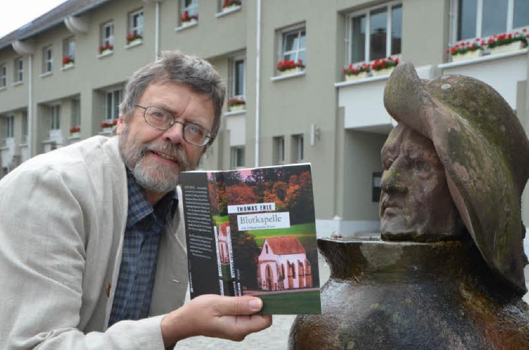 "Der Roman ""Blutkapelle"" spielt in Emmendingen  | Foto: Sylvia-Karina  Jahn"