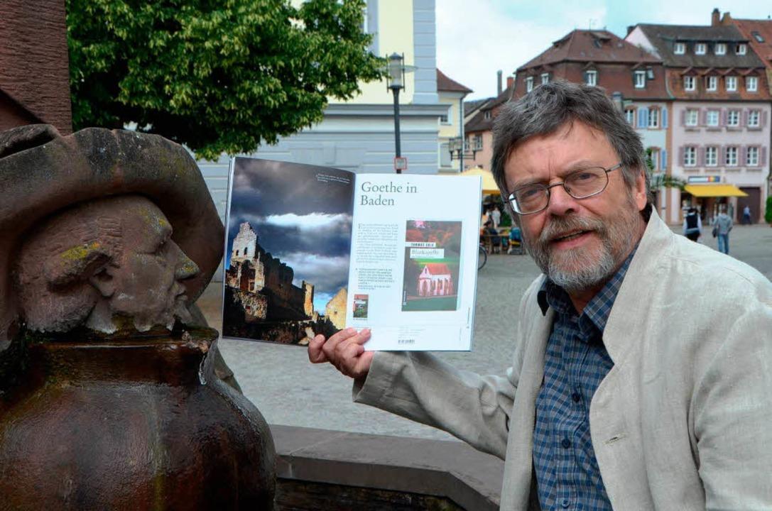 Im Verlagsprospekt kommt auch die Hochburg ganz groß 'raus  | Foto: Sylvia-Karina  Jahn
