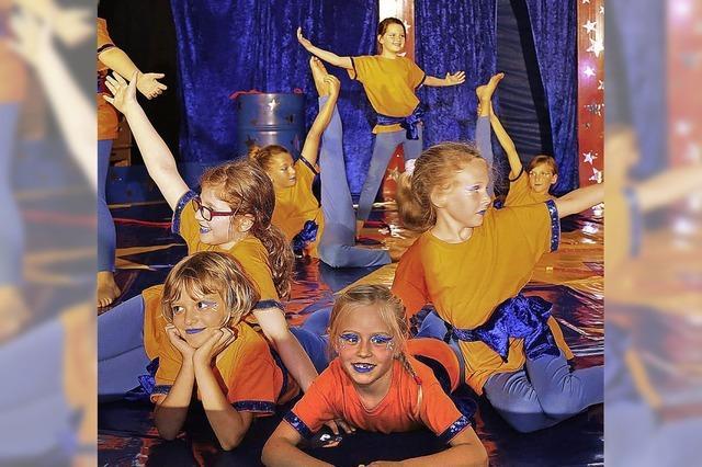 Mächtig viel Zirkus in der Schule