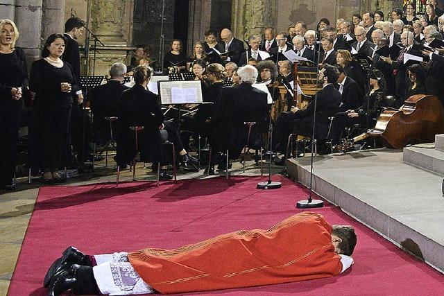 Bischofsweihe aus Domchor-Sicht