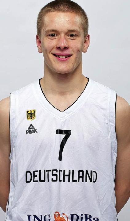 Für Deutschland am Ball: USC-Spieler Maximilian Mayer   | Foto: dbb