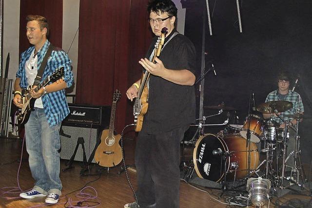 Musiker entfalten Talente