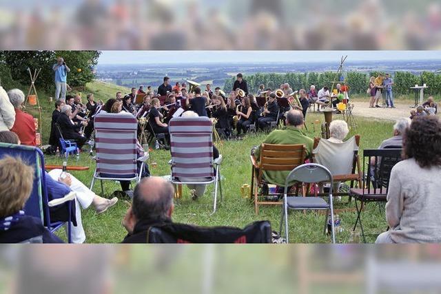 Gemütliches Picknick zum Konzert