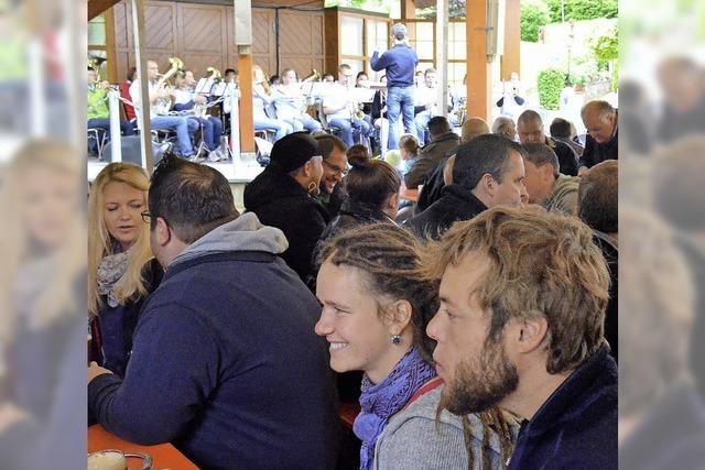 Kurparkfest der Stadtmusik und Jugendkapelle St. Blasien