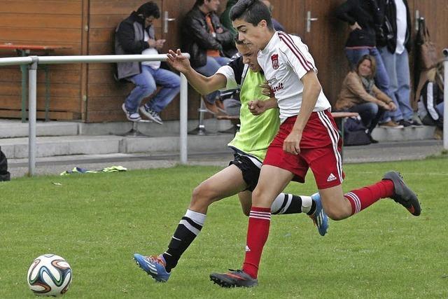 Nachwuchs-Fußballer zeigen gutes Niveau