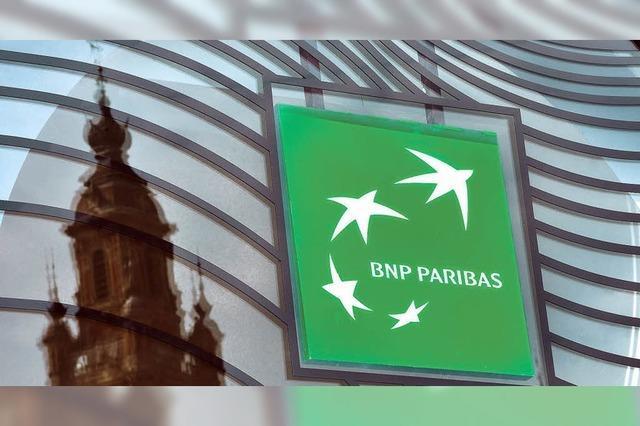 Großbank BNP Paribas zahlt Milliardenstrafe