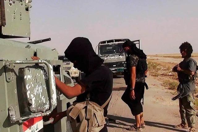 Isis liefert sich mit irakischer Armee schwere Gefechte