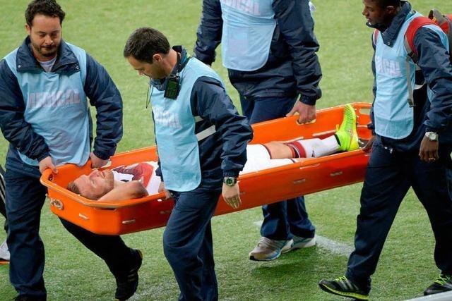Muskelfaserriss: Mustafi fällt für die WM aus
