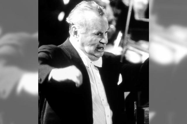 Das Festival in Colmar: Hommage an den russischen Dirigenten Evgeny Svetlanov