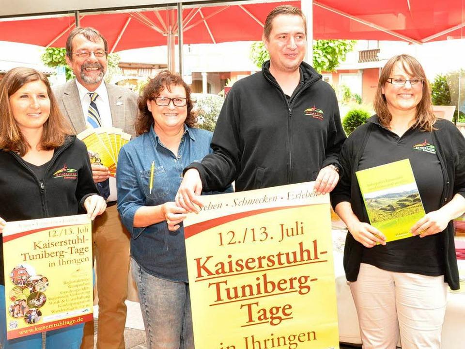 Die Organisatoren der 4. Kaiserstuhl- und Tunibergtage  | Foto: Kai Kricheldorff