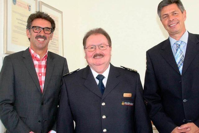 Mit Leib und Seele Feuerwehrmann