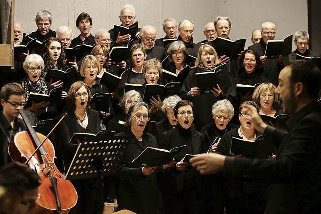 Sommerkonzert der Offenburger Kantorei in der Auferstehungskirche