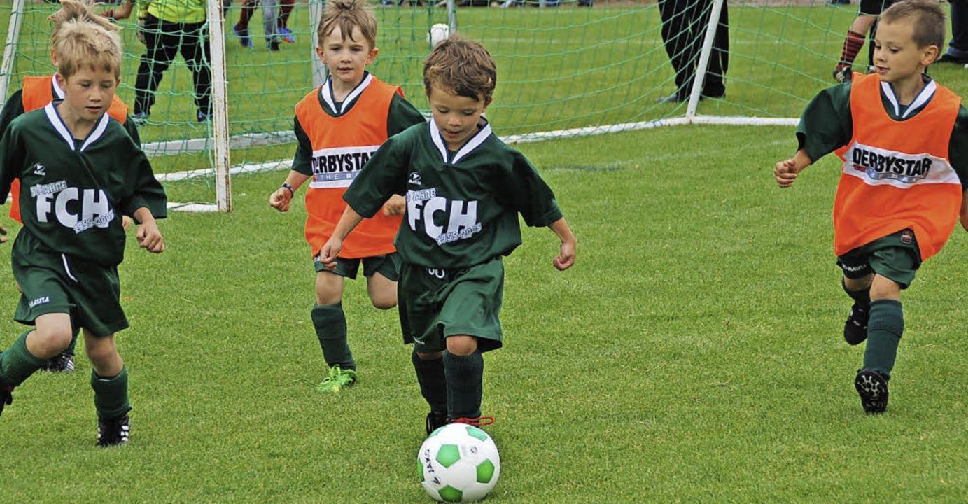 Die Bambini sind die jüngsten Fußballer. Aber nicht die schlechtesten  | Foto: Edgar Steinfelder
