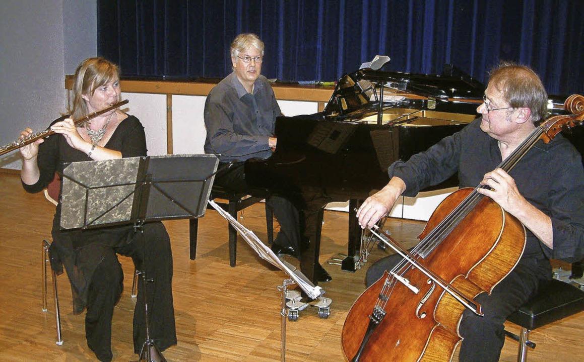 <Text>Das Cyprian Ensemble, hier in Tr... Buttgereit und Helmut Menzler</Text>   | Foto: Roswitha Frey