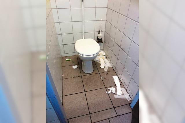 Eklige Zustände am Müllheimer Bahnhof