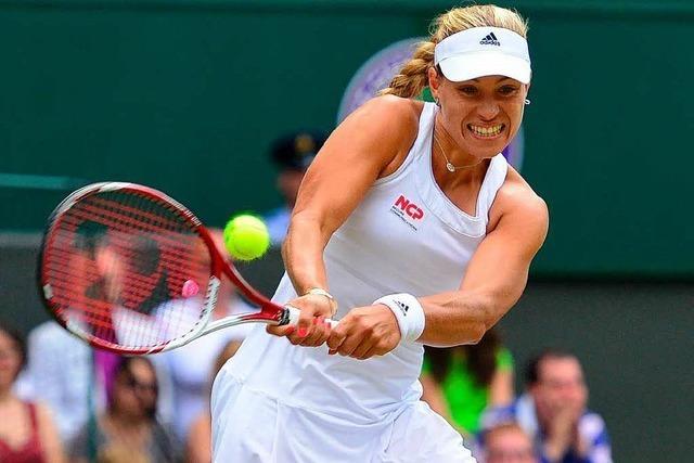 Wimbledon: Kerber und Lisicki erreichen Viertelfinale