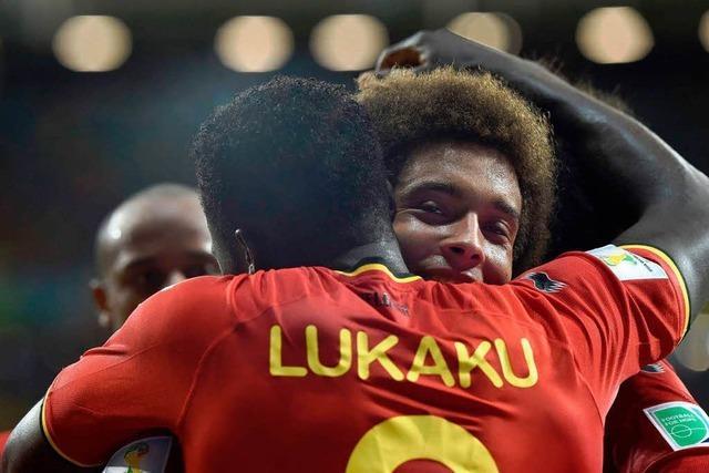 Belgien mit 2:1 über USA im Viertelfinale