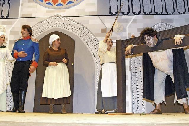 Ein Fest wie ein Theaterstück