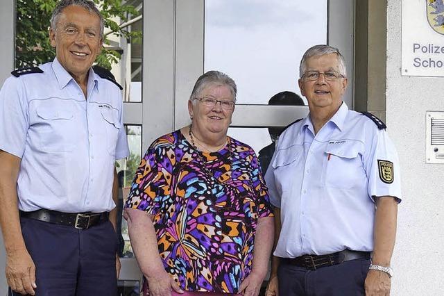 Nach jahrzehntelangem Polizeidienst in den Ruhestand
