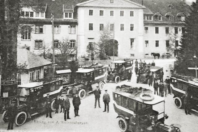 Ein Zentralbahnhof vor 100 Jahren