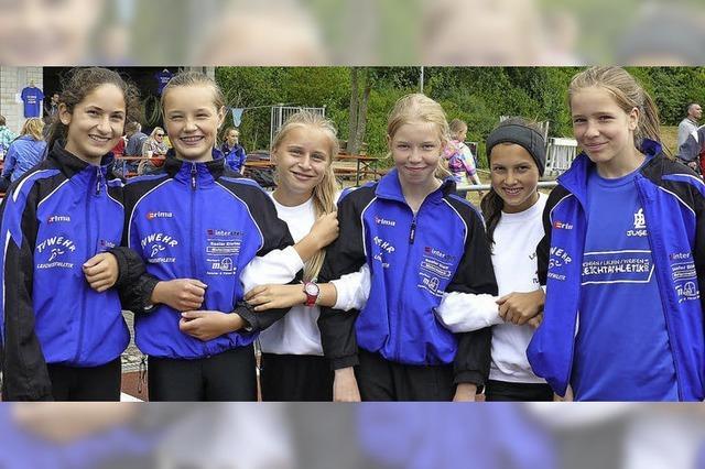 Mädchenteam des TV Wehr auf Platz vier
