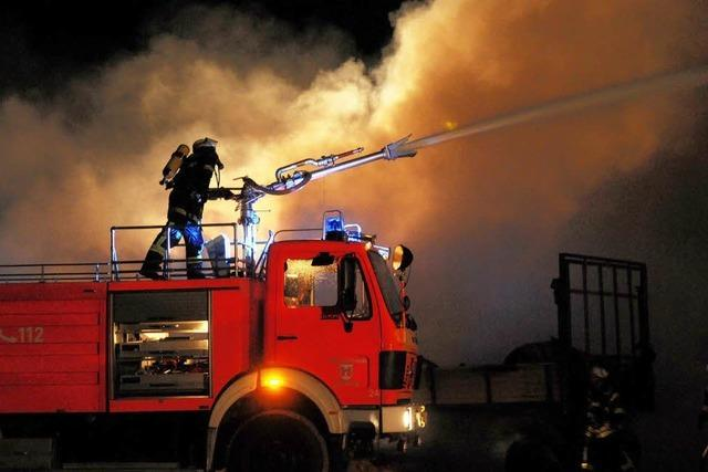 Wieder brennt ein Stall in Altenheim – Brandstiftung vermutet