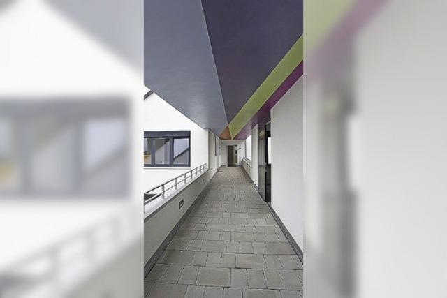 Moderner Wohnkomplex