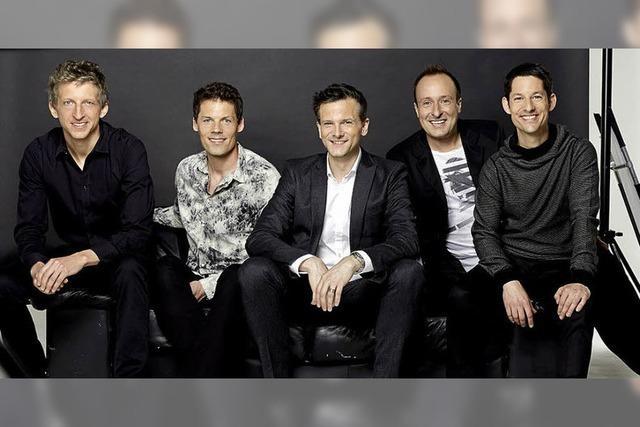 A-Cappella-Band Basta will mit ihren Stimmen die Hallen zum Beben bringen