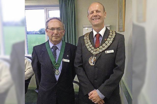 Neuer Mayor in North Hykeham