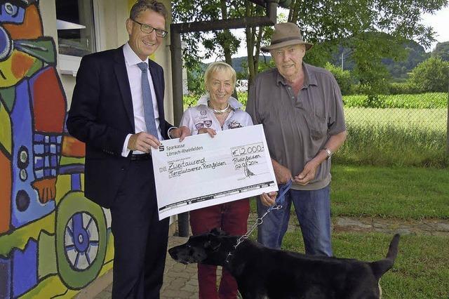 Tierheim erhält 2000 Euro