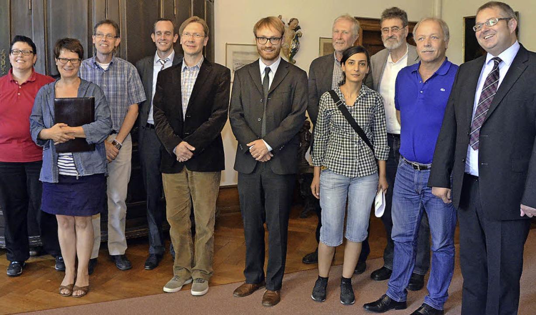 Workshop-Teilnehmer   (von links): Bet...Rünzi, Peter Weiß  und Alexander Guhl   | Foto: Herceg