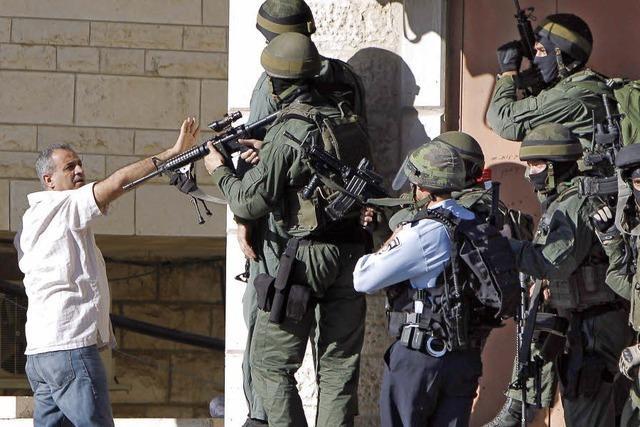 Unruhen in Ostjerusalem