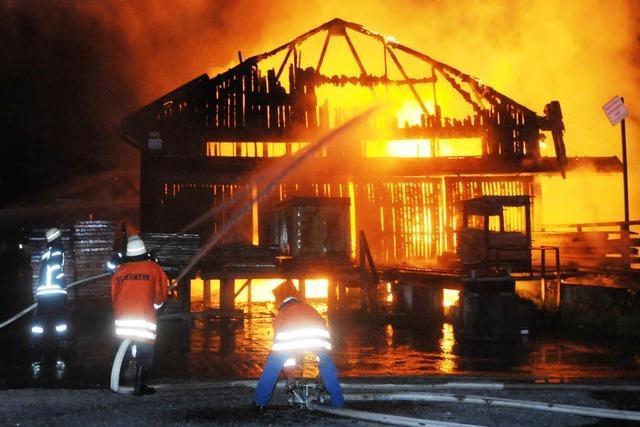 Sägewerk in Schuttertal abgebrannt