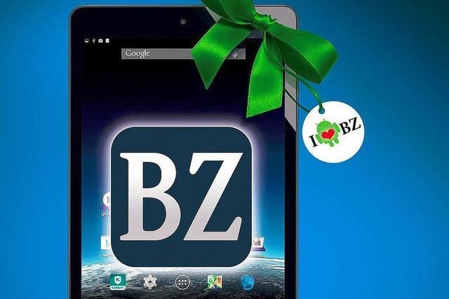 10.000 Digital-Abonnenten: BZ bietet ein Tablet im Sparpaket