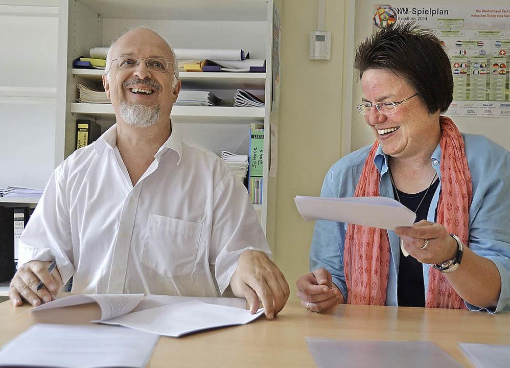 Die Freude an der Kooperation zeigt si...in gutes Miteinander auch in Zukunft.   | Foto: Babeck-Reinsch