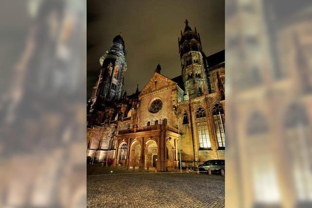 Mehr Licht für den Freiburger Münsterturm?