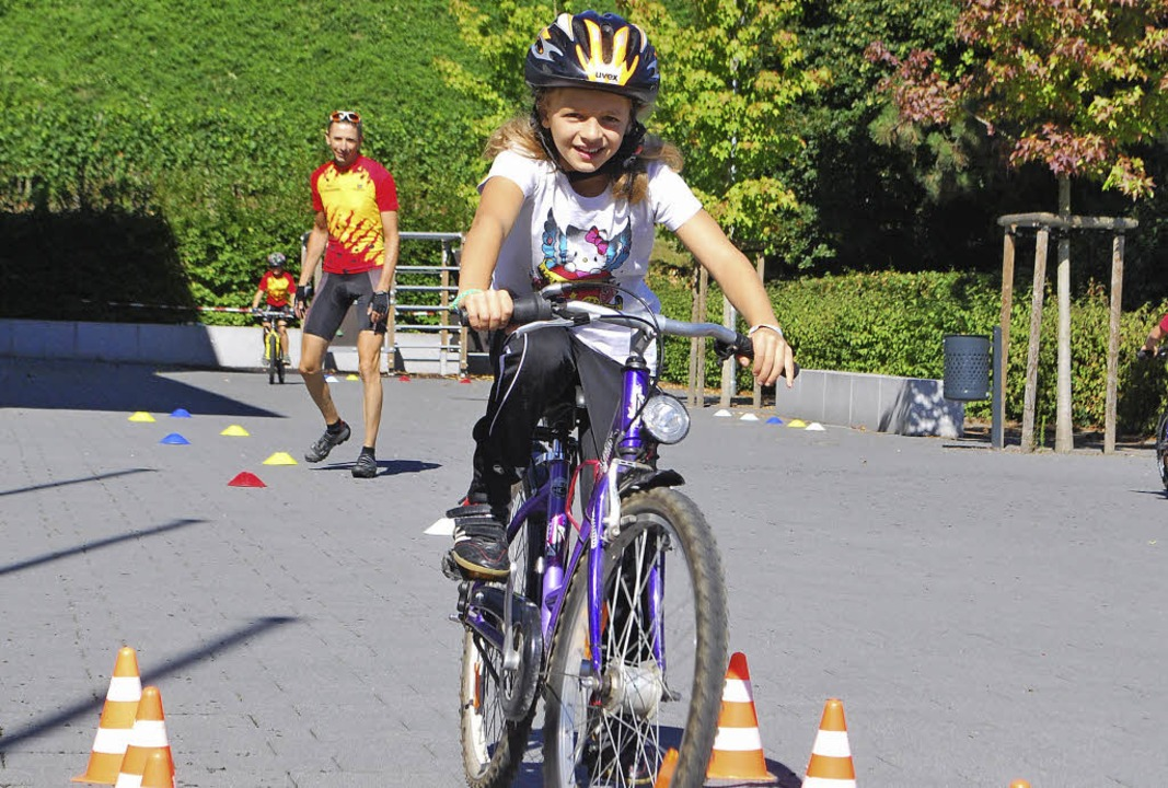 Im vergangenen Jahr hatten die Kinder ...tag mit dem Radsportverein Achkarren.     Foto: Archivfoto: Benjamin Bohn