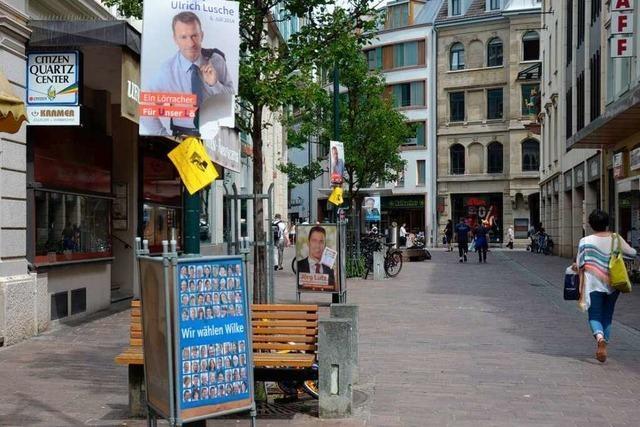 Zwei Wahlgänge liegen bei der OB-Wahl in Lörrach im Trend