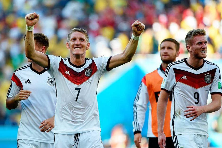 Sieg gegen Frankreich (Foto: AFP)